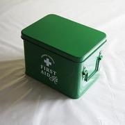 ホーロー・エイド缶Sサイズ(green)
