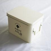 ホーロー・エイド缶Sサイズ(Ivory)