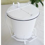 ロピタル・ホーロー缶(ペダル型)